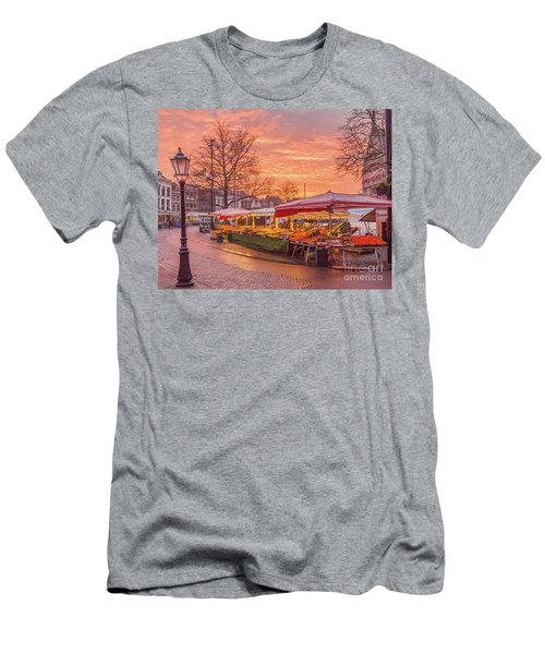 Good Morning Gouda-2 Men's T-Shirt (Athletic Fit)