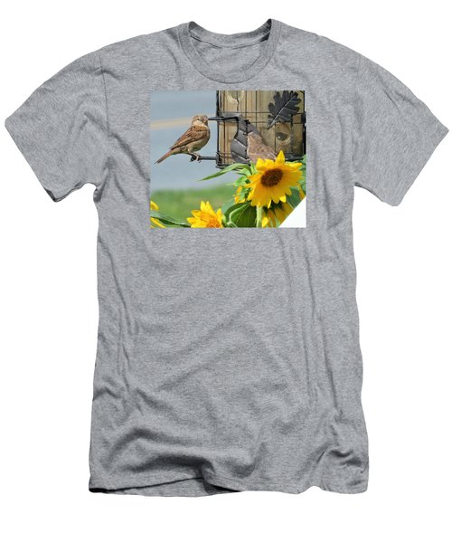 Men's T-Shirt (Slim Fit) featuring the photograph Good Morning by Jeanette Oberholtzer