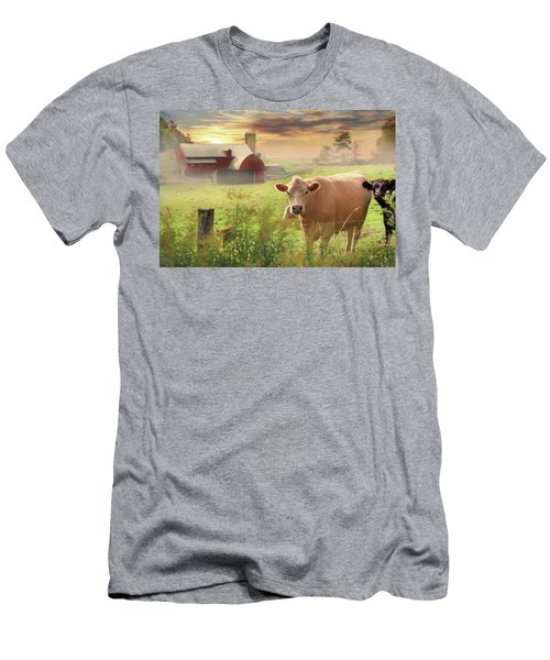 Men's T-Shirt (Slim Fit) featuring the photograph Good Morning by Lori Deiter