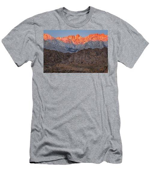 Good Morning Mount Whitney Men's T-Shirt (Athletic Fit)
