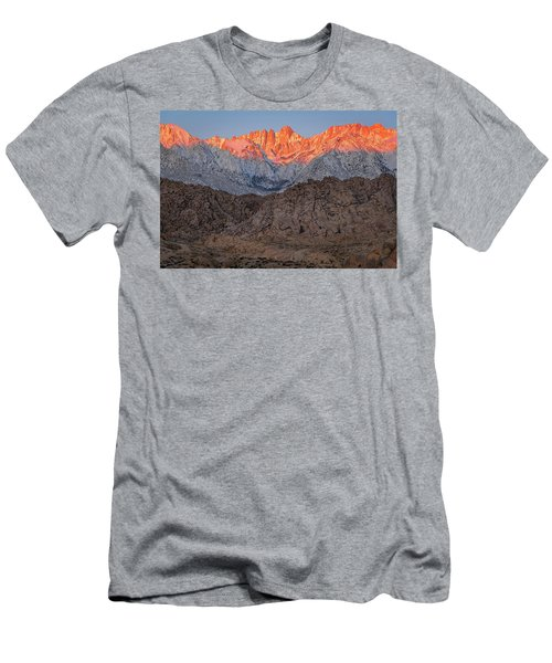 Men's T-Shirt (Athletic Fit) featuring the photograph Good Morning Mount Whitney by John Hight
