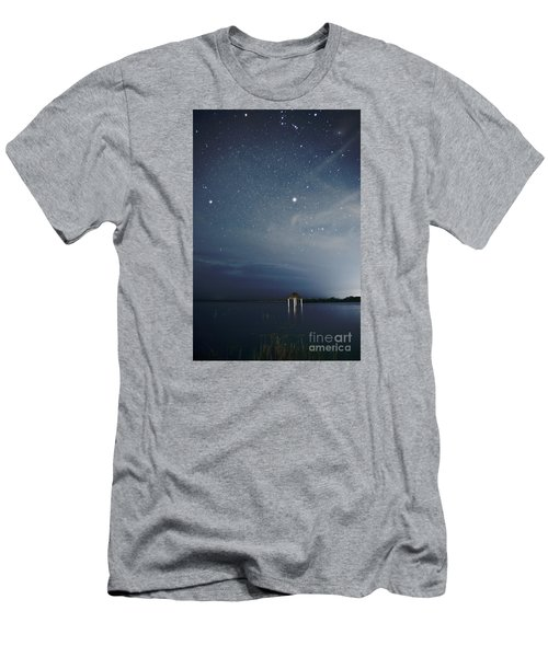 Men's T-Shirt (Slim Fit) featuring the photograph Good Night Dreams by Yuri Santin