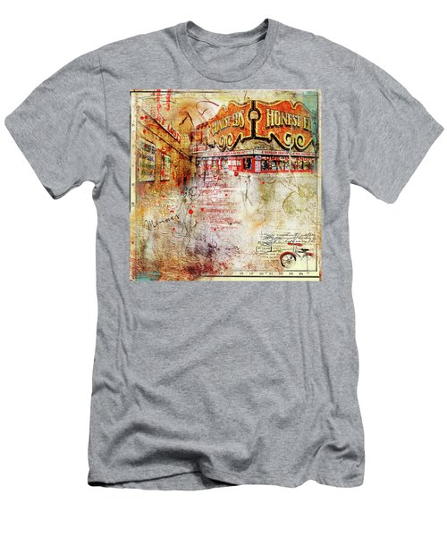 Goodbye Honest Eds II Men's T-Shirt (Slim Fit) by Nicky Jameson