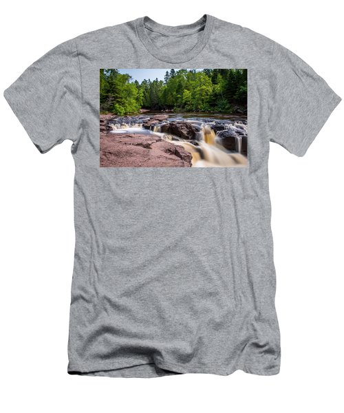 Goose Berry River Rapids Men's T-Shirt (Athletic Fit)