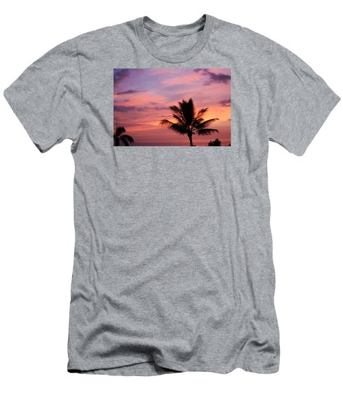 Men's T-Shirt (Slim Fit) featuring the photograph Gorgeous Hawaiian Sunset - 1 by Karen Nicholson