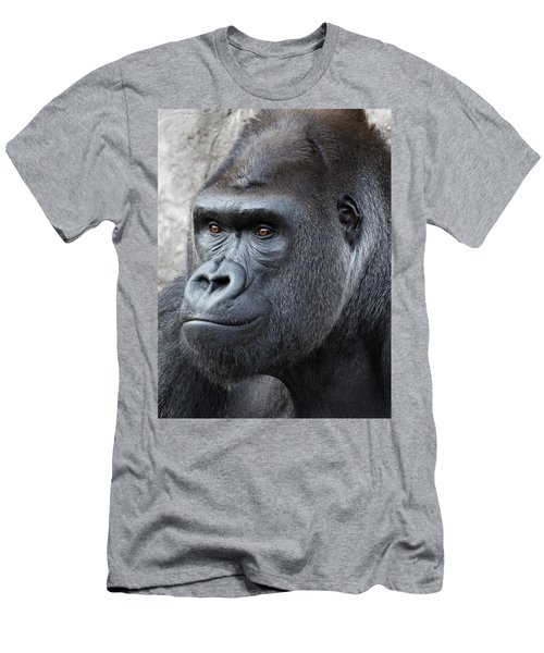 Gorillas In The Mist Men's T-Shirt (Athletic Fit)