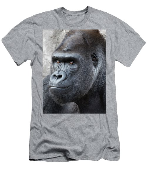 Gorillas In The Mist Men's T-Shirt (Athletic Fit)