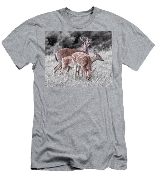 Humor Got Some Doe And Two Bucks Men's T-Shirt (Athletic Fit)