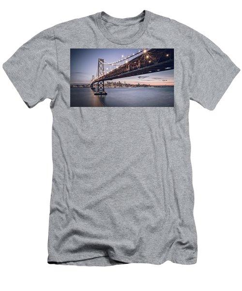 Gotham City Men's T-Shirt (Slim Fit) by Eduard Moldoveanu