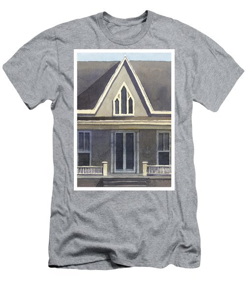Gothic American, New Harmony, In Men's T-Shirt (Athletic Fit)