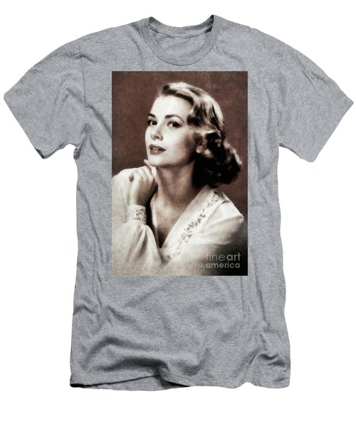 Grace Kelly, Actress, By Js Men's T-Shirt (Athletic Fit)