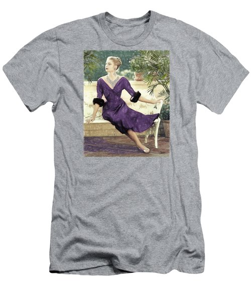 Grace Kelly Draw Men's T-Shirt (Athletic Fit)