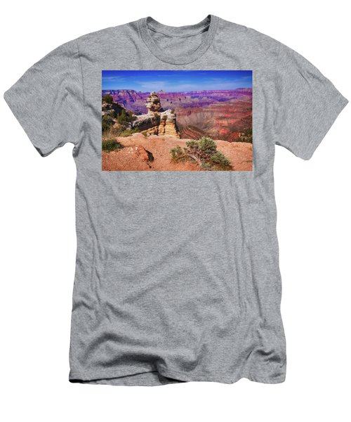 Men's T-Shirt (Athletic Fit) featuring the photograph Grand Canyon Arizona by Tatiana Travelways