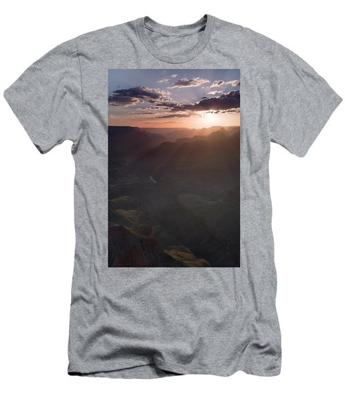 Grand Canyon Glow Men's T-Shirt (Athletic Fit)