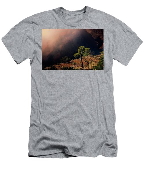 Men's T-Shirt (Athletic Fit) featuring the photograph Grand Canyon Juniper by John Hight