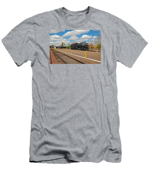 Grand Canyon Railway Men's T-Shirt (Athletic Fit)
