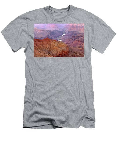 Grand Canyon River View Men's T-Shirt (Athletic Fit)