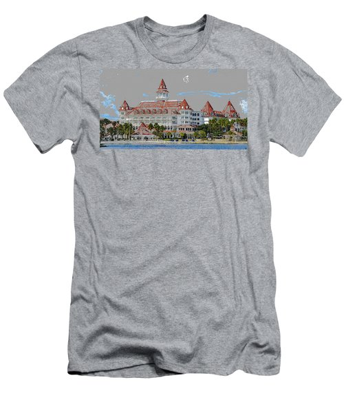 Grand Floridian In Summer Men's T-Shirt (Athletic Fit)