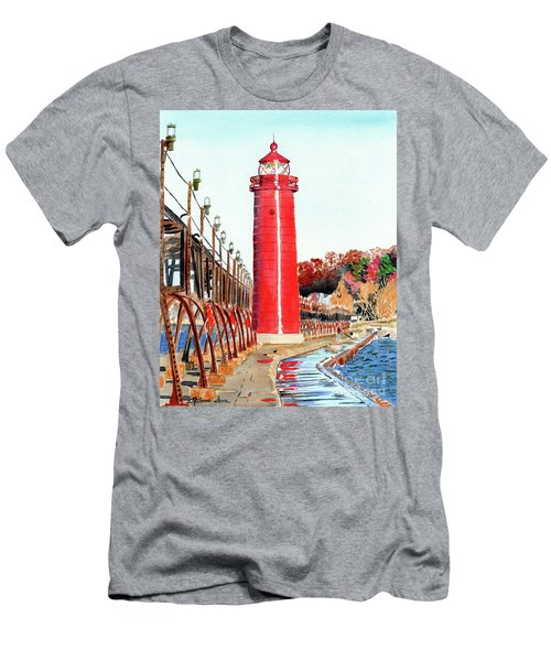 Grand Haven Autumn Men's T-Shirt (Athletic Fit)