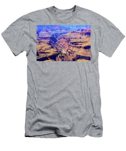 Grand Haze Canyon Men's T-Shirt (Athletic Fit)
