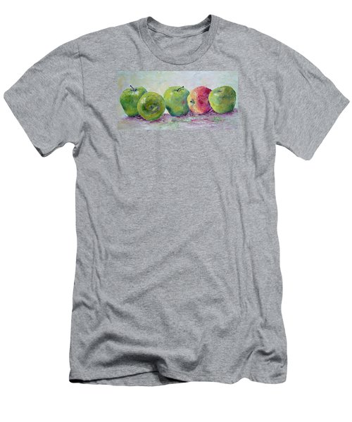Grannie Smiths And A Gala Men's T-Shirt (Slim Fit) by Jill Musser