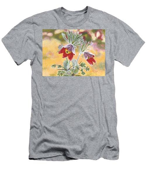 Granny Flowers Men's T-Shirt (Athletic Fit)