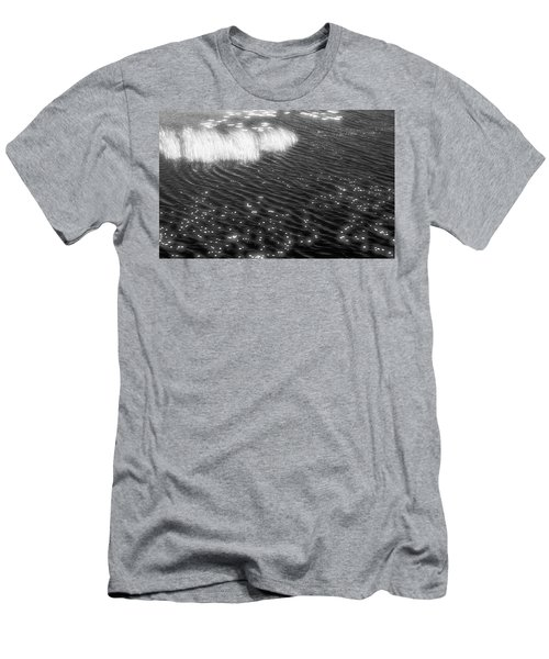 Grass And Water And Lilly Pads Bw2  Men's T-Shirt (Athletic Fit)