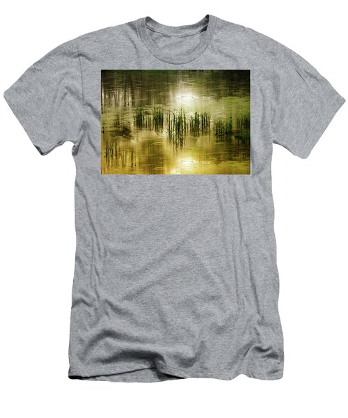Grassland Abstract Men's T-Shirt (Athletic Fit)