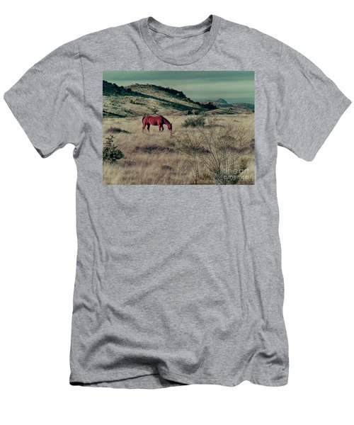 Grazing Solo Men's T-Shirt (Athletic Fit)