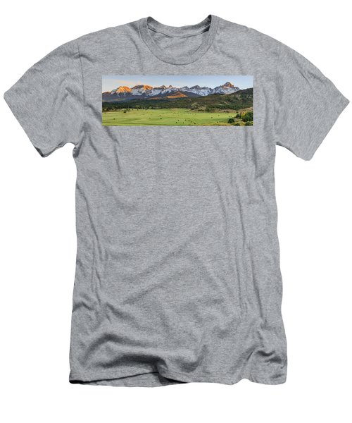 Men's T-Shirt (Athletic Fit) featuring the photograph Grazing Under Sneffels by David Chandler