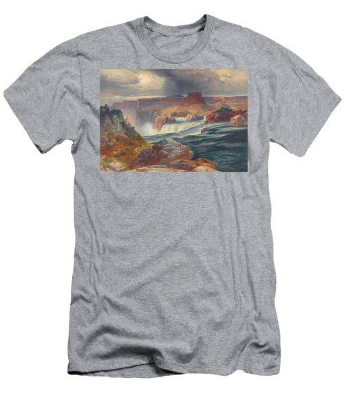 Great Falls Of Snake River, Idaho 1876 Men's T-Shirt (Athletic Fit)