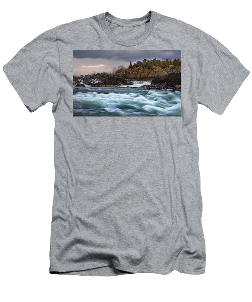 Great Falls Virginia Men's T-Shirt (Athletic Fit)