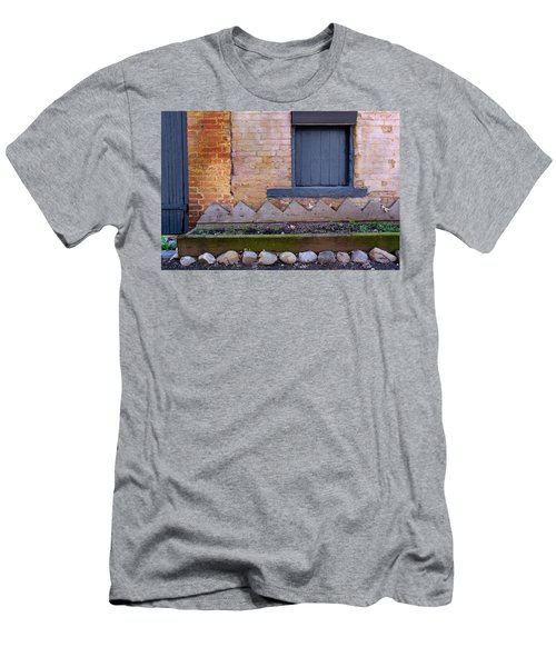 Great Place For Flowers Below A Purple Window In Frederick Maryl Men's T-Shirt (Athletic Fit)