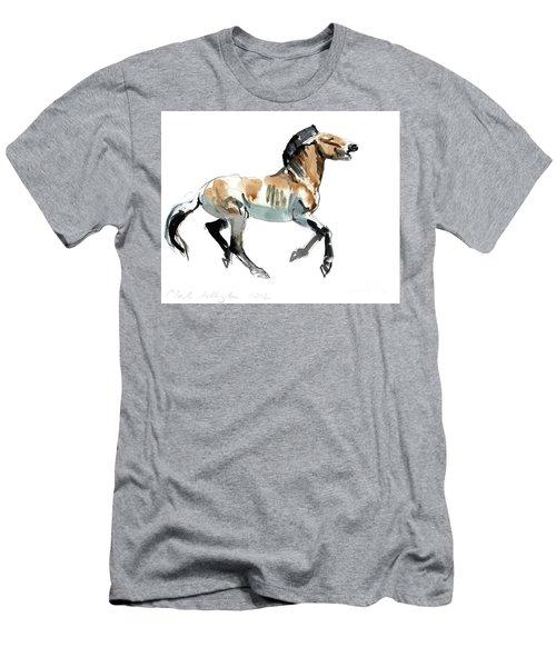 Greek, Przewalski Men's T-Shirt (Athletic Fit)