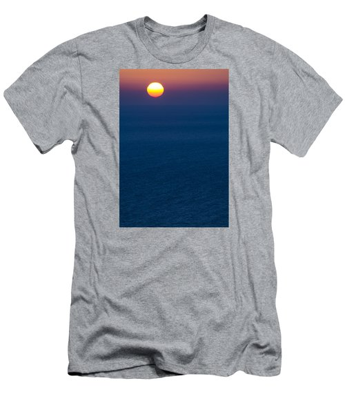 Greek Sunset Men's T-Shirt (Athletic Fit)