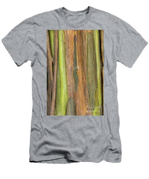 Men's T-Shirt (Slim Fit) featuring the photograph Green Bark 3 by Werner Padarin