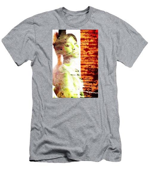 Green Bauty Men's T-Shirt (Slim Fit) by Andrea Barbieri