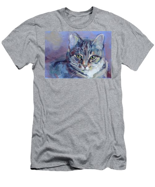 Green Eyed Tabby - Thomasina Men's T-Shirt (Athletic Fit)