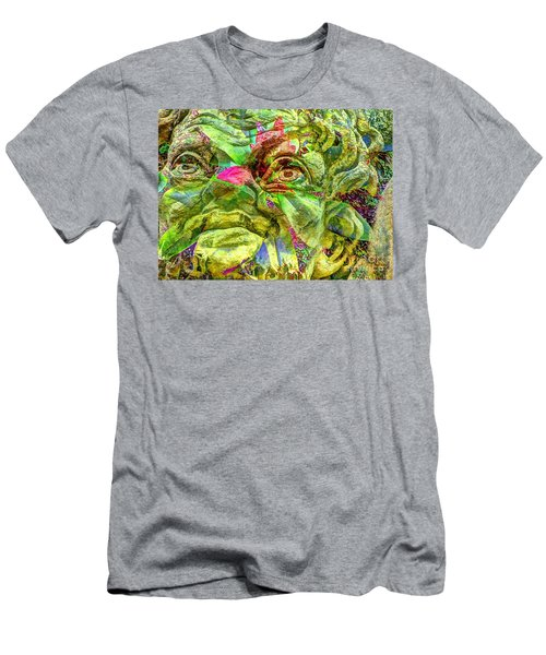 Green Face Men's T-Shirt (Athletic Fit)