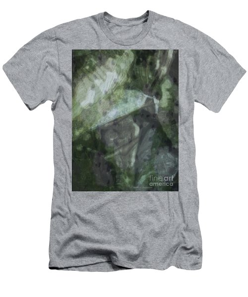 Men's T-Shirt (Slim Fit) featuring the photograph Green Mist by Kathie Chicoine