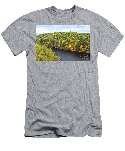 Green Mixture Men's T-Shirt (Athletic Fit)