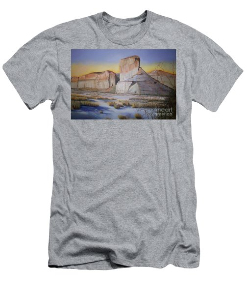 Green River Wyoming Men's T-Shirt (Slim Fit) by Marlene Book
