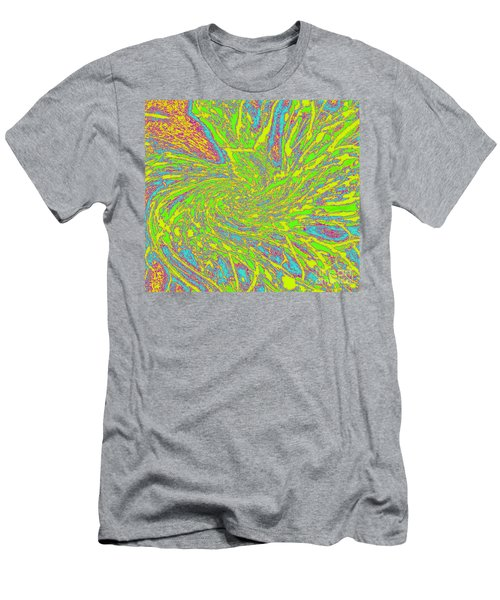 Green Spider Web Men's T-Shirt (Athletic Fit)