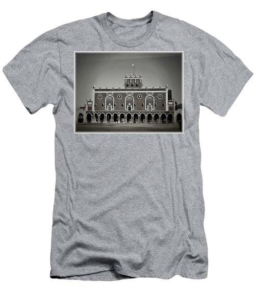 Greetings From Asbury Park Men's T-Shirt (Slim Fit) by Allen Beilschmidt
