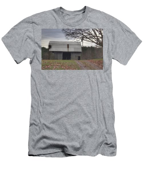 0014 - Grey Horse Barn Men's T-Shirt (Athletic Fit)