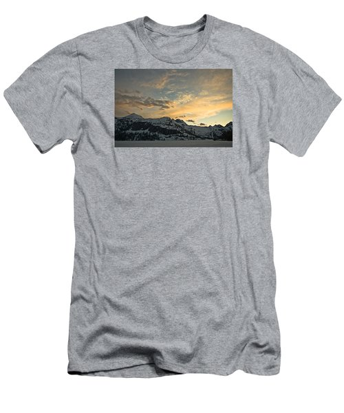 Grey Wolf Lake Men's T-Shirt (Athletic Fit)