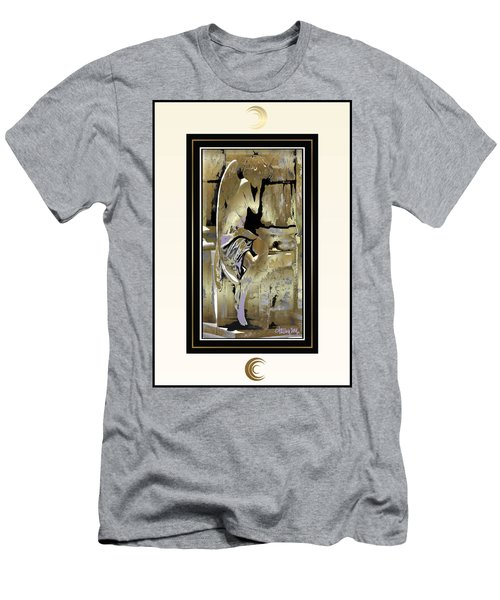Grief Angel - Light Border Men's T-Shirt (Athletic Fit)