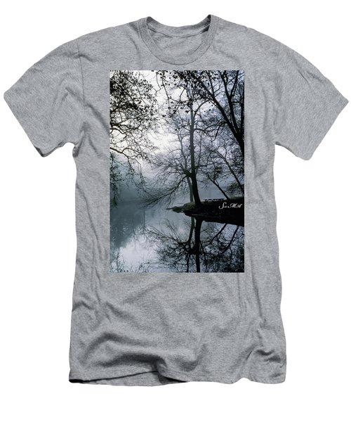 Grings Mill Fog 1043 Men's T-Shirt (Athletic Fit)
