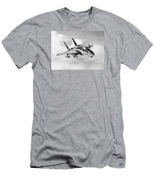 Grumman F-14 Tomcat Men's T-Shirt (Slim Fit) by Douglas Castleman