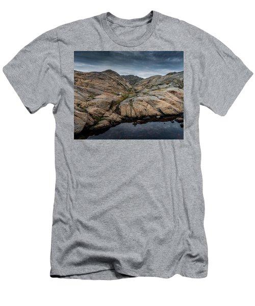 Grundsund, Sweden Men's T-Shirt (Slim Fit) by Martina Thompson